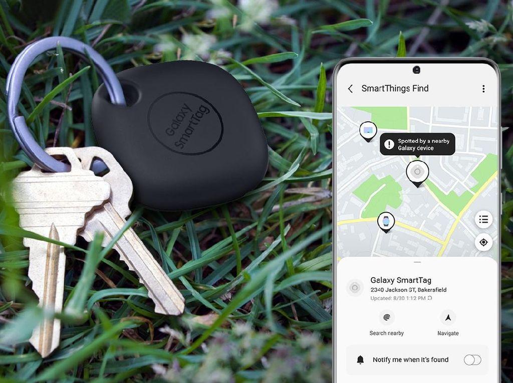 Samsung Galaxy Smart Tag Resmi Meluncur, Bisa Cari Barang yang Hilang