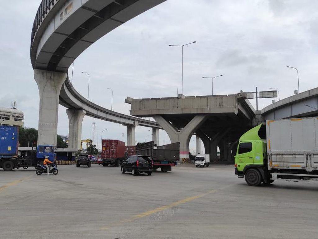 Pemasangan Traffic Light di Simpang JICT Jakut Tunggu SPD BPKD