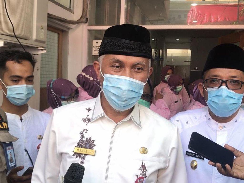 Gubernur Sumbar Akan Jalani Rekomendasi soal Penyimpangan Dana COVID
