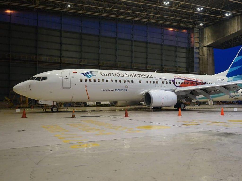 Simak! Garuda Tebar Diskon Tiket Pesawat Sampai 60 Persen