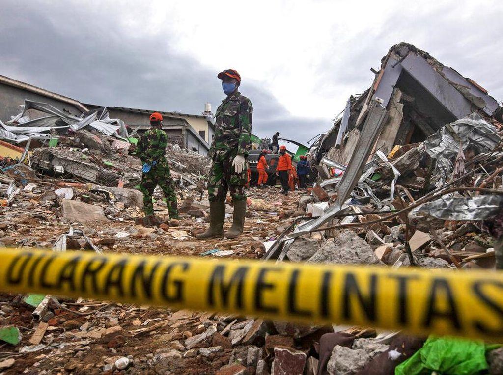 Bangunan-Infrastruktur Rusak Dampak Gempa Sulbar, Kerugian Rp 900 M
