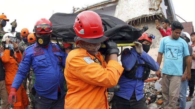 Update Korban Gempa Sulbar: 56 Orang Meninggal Dunia-637 Luka