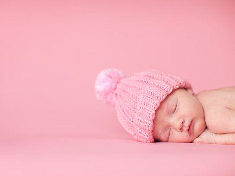 Ilustrasi bayi perempuan