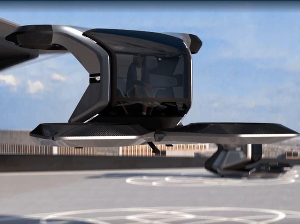 Wujud Mobil Terbang Milik GM, Bisa Melesat 88 Km/Jam