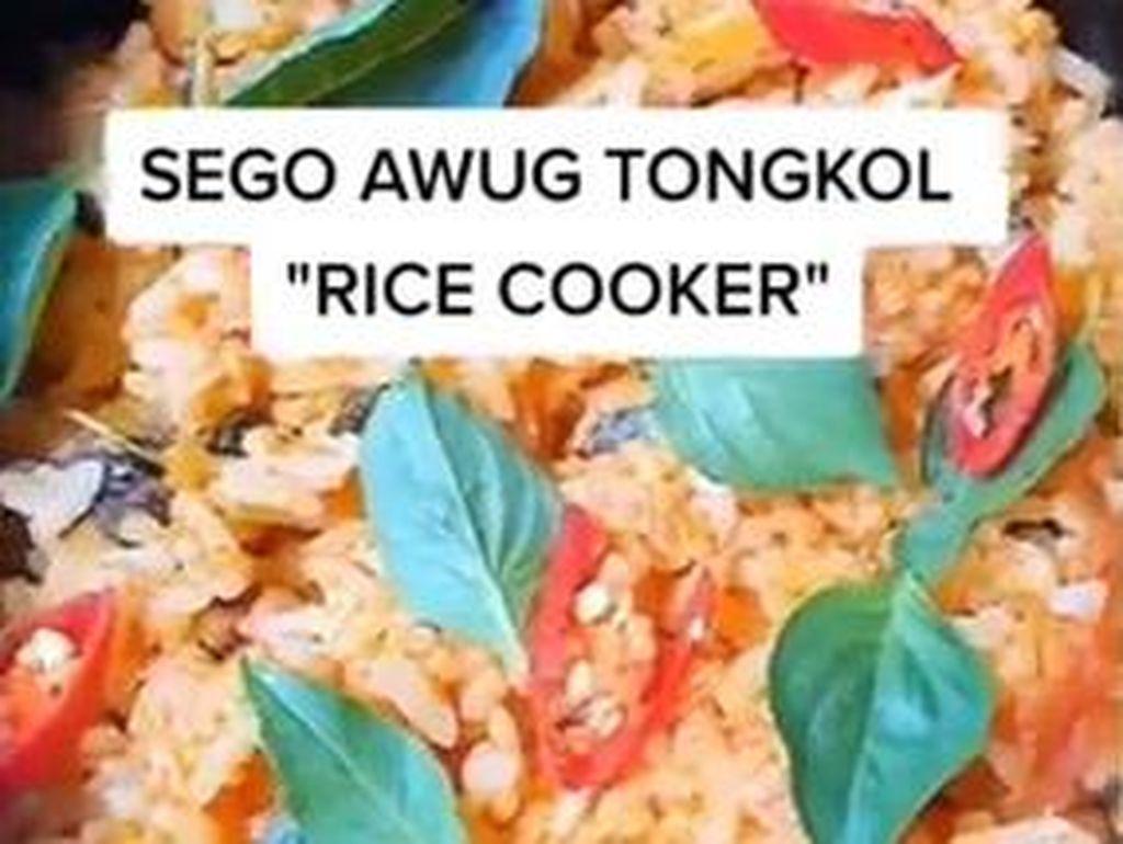Praktis! Masak Nasi Ikan Tongkol Sedap Pakai Rice Cooker