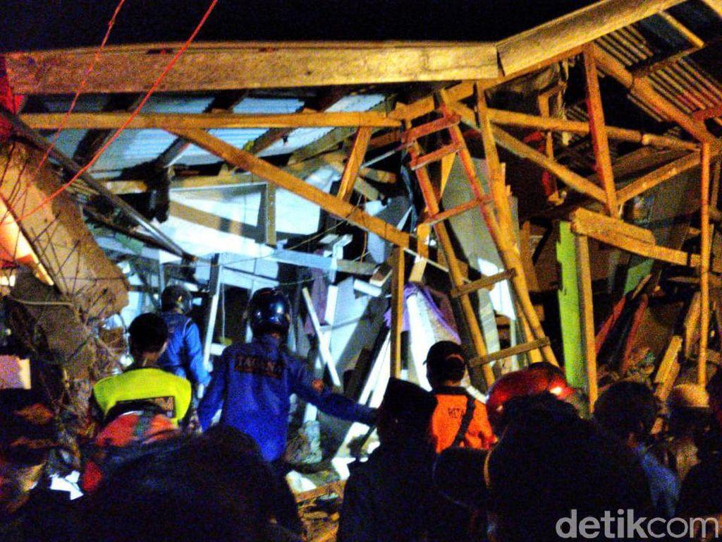 Ini Diduga Penyebab Robohnya Bangunan Ponpes di Cianjur