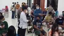 Puluhan LC-Warga Terjaring Razia PPKM di Pati, 2 Reaktif
