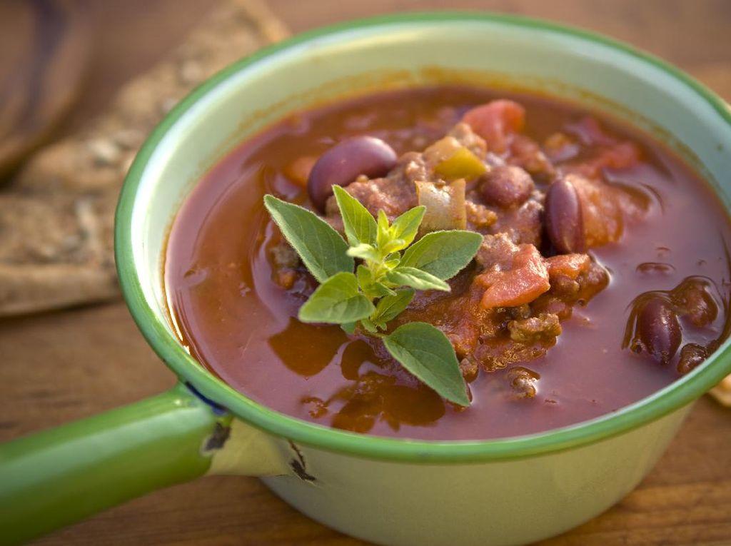 Resep Sop Kacang Merah ala Mexico yang Pedas Segar