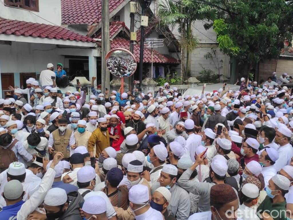 Lokasi Pemakaman Habib Ali di Rawajati Jaksel Dipadati Pelayat