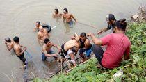 Pelajar SMP Tewas Tenggelam Saat Mancing di Tengah Sungai Sadar Mojokerto
