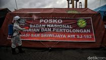 Cegah Corona, Posko Darurat Sriwijaya Air di JICT Disemprot Disinfektan