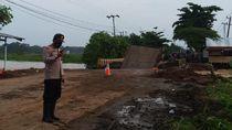 Jembatan di Banjar Roboh, Jalur Trans Kalimantan Banjarmasin-Martapura Putus