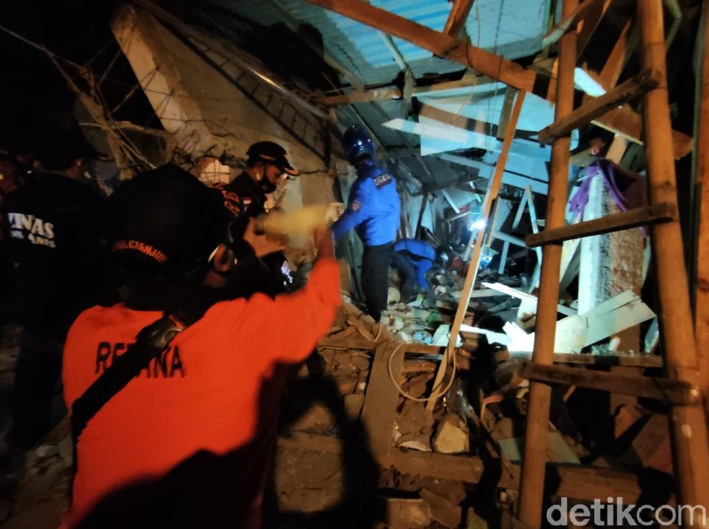 Ponpes di Cianjur Roboh, BPBD Pastikan Tidak Ada Korban Tertimbun