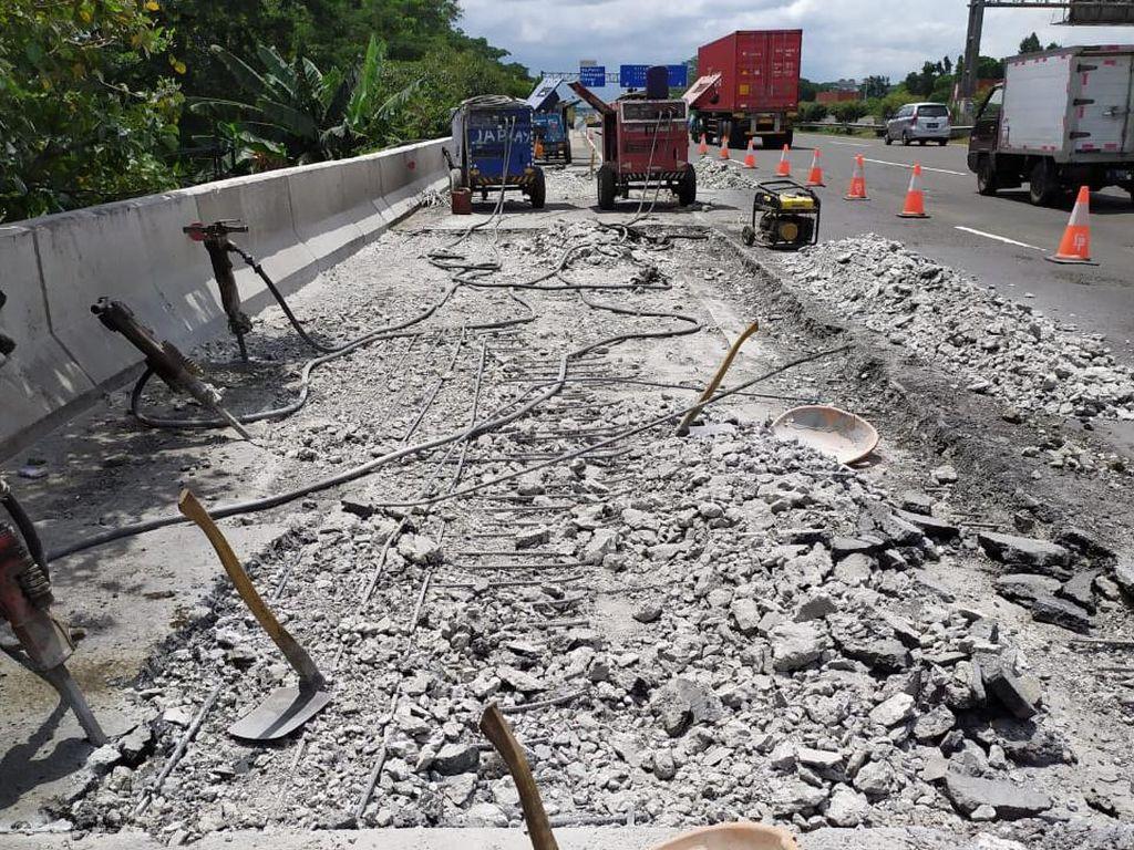 Hati-hati, Ada Perbaikan Jembatan di Tol Jagorawi