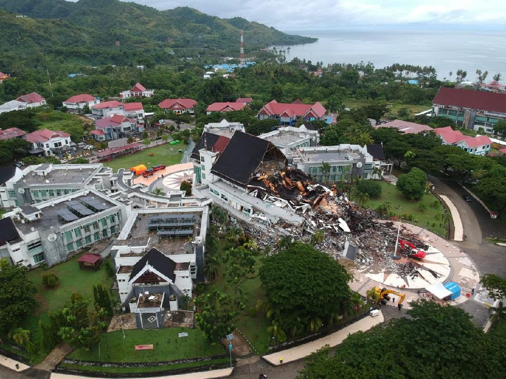 Aset Negara Rusak Imbas Gempa Sulbar, Kerugian Rp 900 Miliar