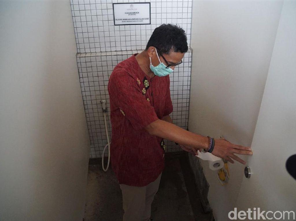 Bikin Satgas, Sandiaga Uno: Saya Jadi Chief Toilet Officer