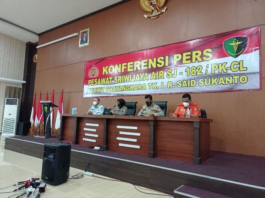 DVI Identifikasi 5 Korban Sriwijaya Air, Total 29 Orang Berhasil Dikenali
