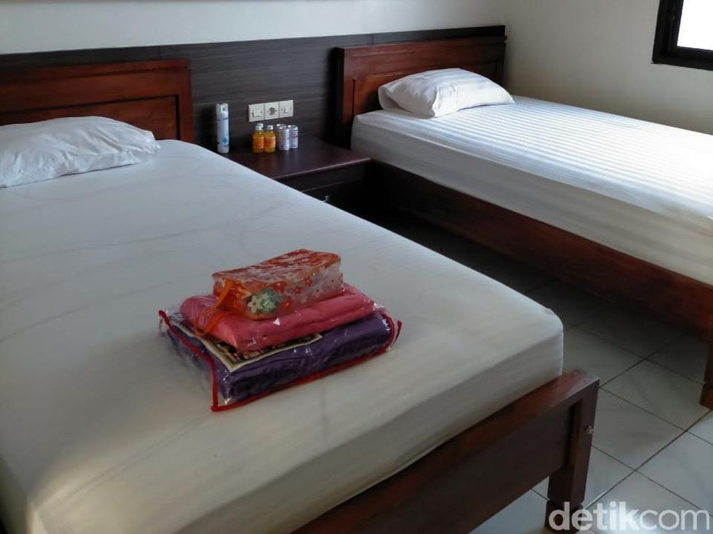 Tempat Isolasi Pasien COVID-19 di Surabaya Ini Serasa Hotel Berbintang