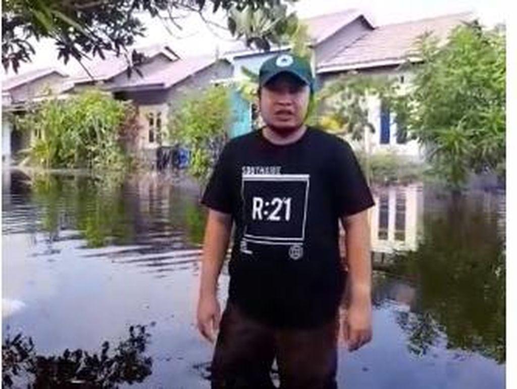 Terdampak Banjir, Warga di Barito Kuala Kalsel Kesulitan Air Bersih