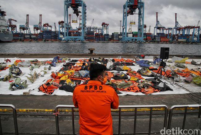 Proses Pencarian Bawah Laut Sriwijaya Air SJ182 Dipersempit