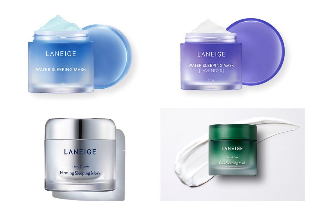 Laneige mengeluarkan beberapa varian sleeping mask.