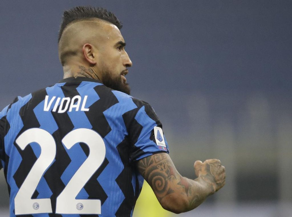 Usai Kalahkan Juventus, Vidal: Inter Bisa Raih Scudetto