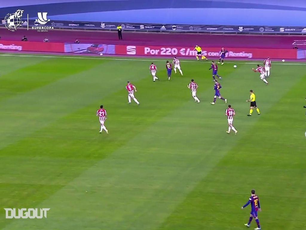 Video: Bilbao Hajar Barca, Lihat Lagi Gol-golnya