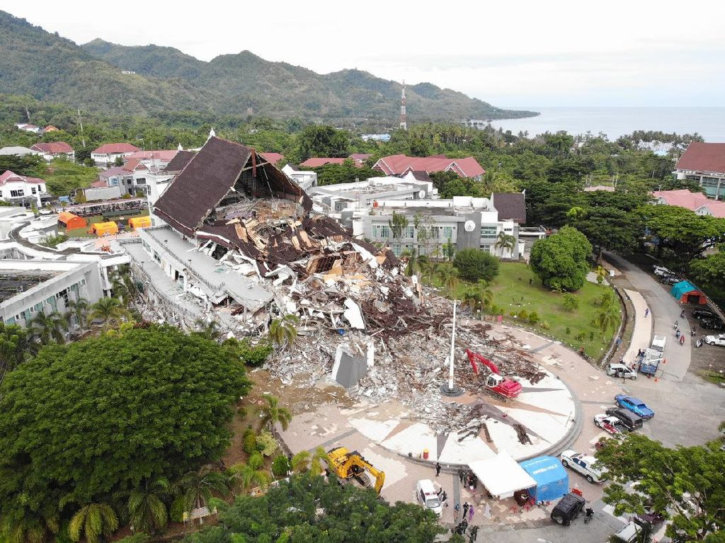 Update Korban Gempa Sulbar: 84 Orang Meninggal dan 932 Luka