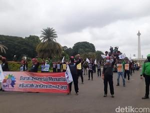 Ada Aksi Tolak Omnibus Law di Monas, Polisi Siapkan Posko Rapid Test