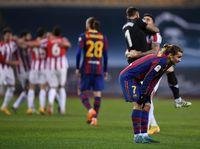 Ditanya Soal Kartu Merah Messi, Griezmann Tanya Balik