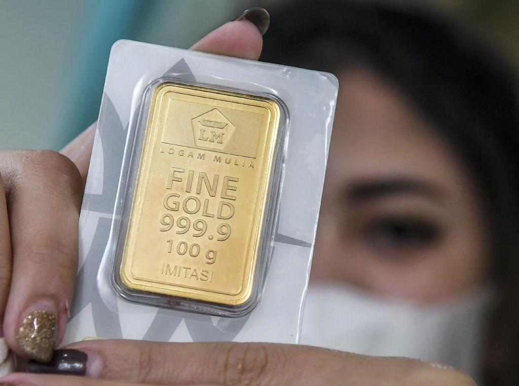 Naik Rp 6.000, Ini Rincian Harga Emas Senin 1 Maret 2021