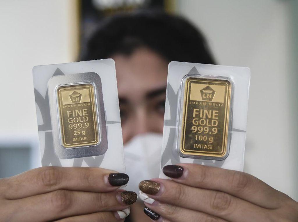 Naik Rp 5.000, Ini Rincian Harga Emas Antam Rabu 3 Maret 2021