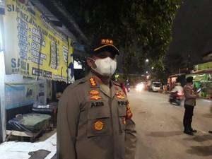 Polres Jaksel Gelar Patroli Pascatawuran Warga di Manggarai