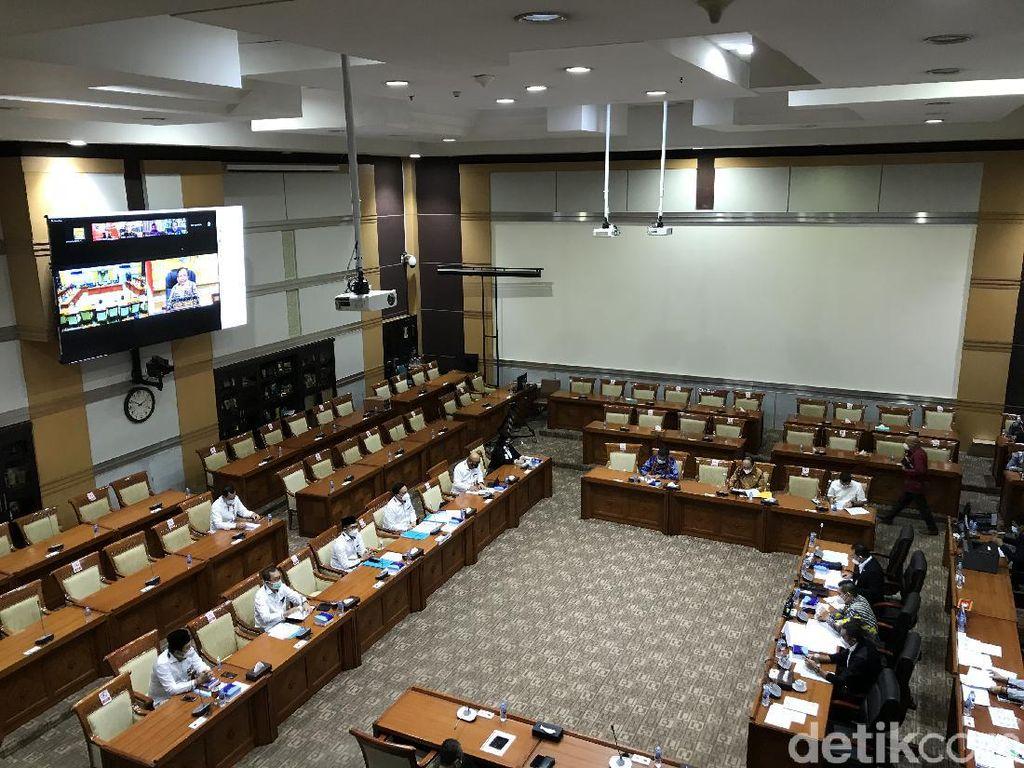 Komisi III-Mahfud Md Rapat Tertutup Bahas Calon Kapolri Komjen Sigit