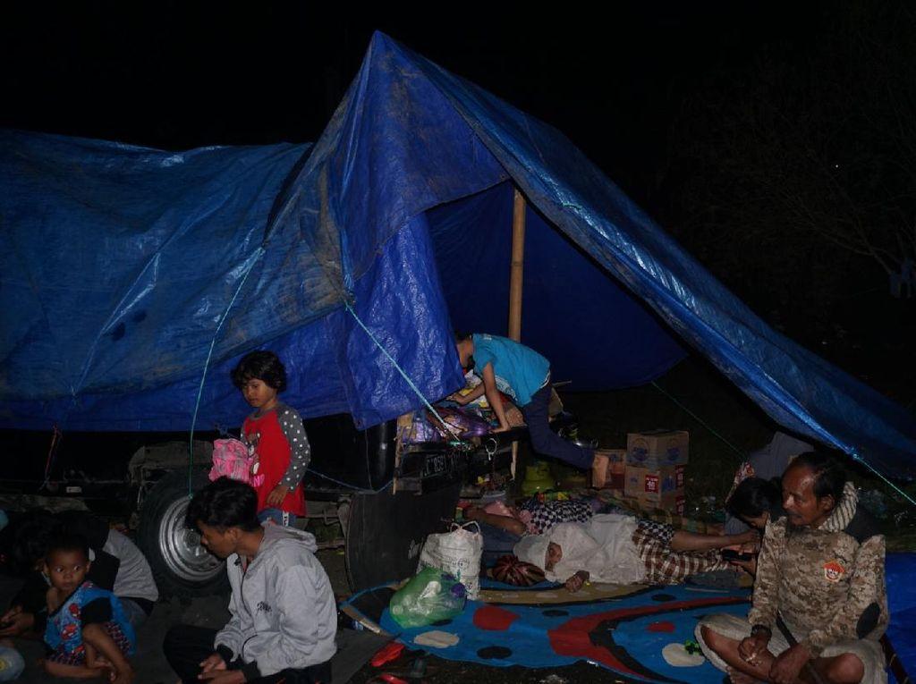 Pengungsi Posko Mandiri di Mamuju Masih Minim Bantuan, Ini Kata Satgas