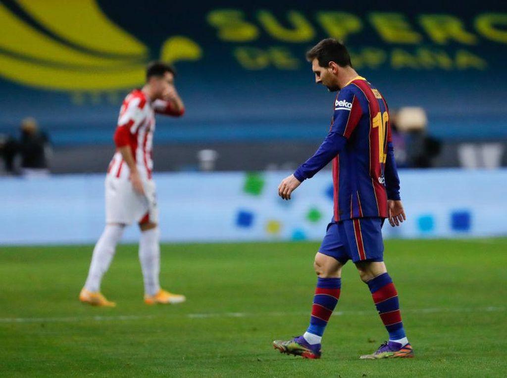 Messi Terancam Sanksi Buntut Pukulannya ke Pemain Bilbao