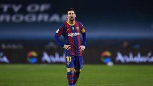 Tunduk Lesu Lionel Messi
