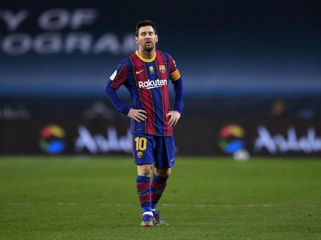 Messi Disanksi 2 Kali Dilarang Bermain untuk Barcelona