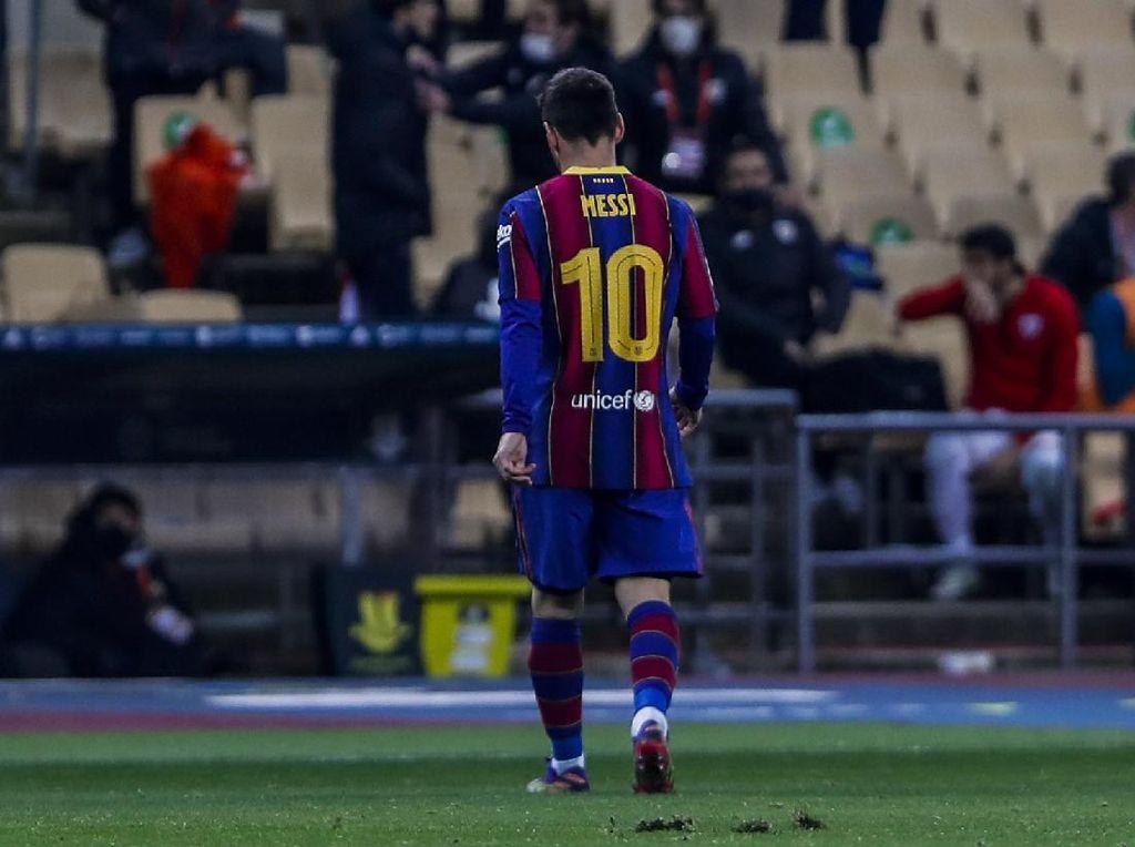 Barcelona Vs Bilbao: Momen Messi Banting Lawan Berujung Kartu Merah
