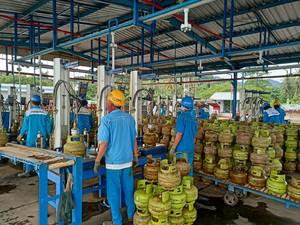 Kementerian ESDM Pastikan Stok BBM dan LPG di Sulbar dan Kalsel
