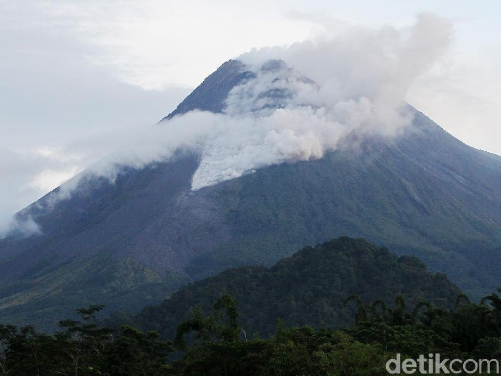 BPPTKG: Pertumbuhan Kubah Lava Gunung Merapi Rendah