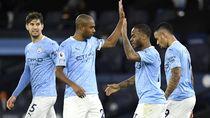 Gol-gol Manchester City Bantai Crystal Palace