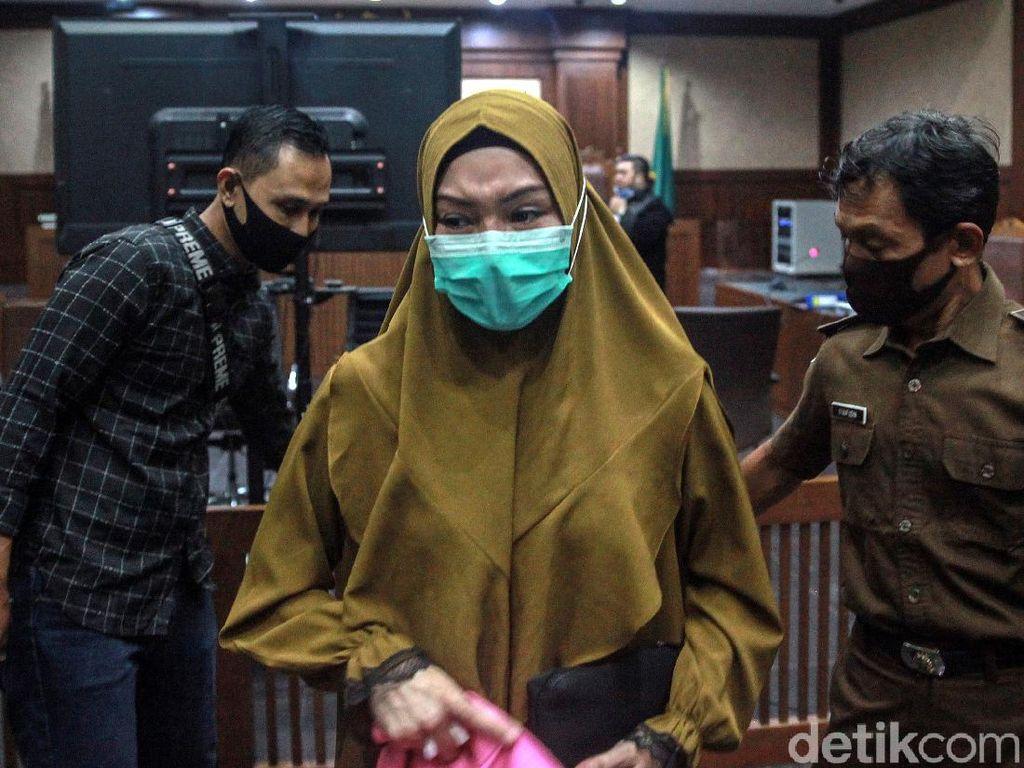 Jaksa Minta Hakim Tolak Pleidoi Pinangki di Kasus Suap Fatwa MA Djoko Tjandra