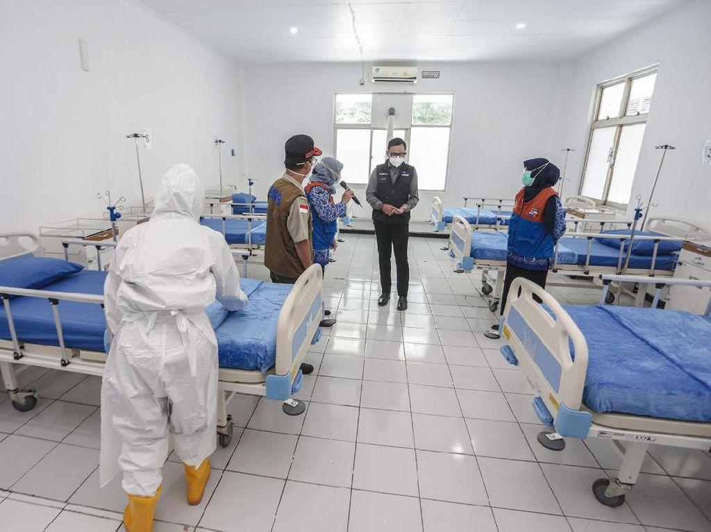 Bima Arya: 70% RS Lapangan Diperuntukkan bagi Pasien COVID-19 Bogor