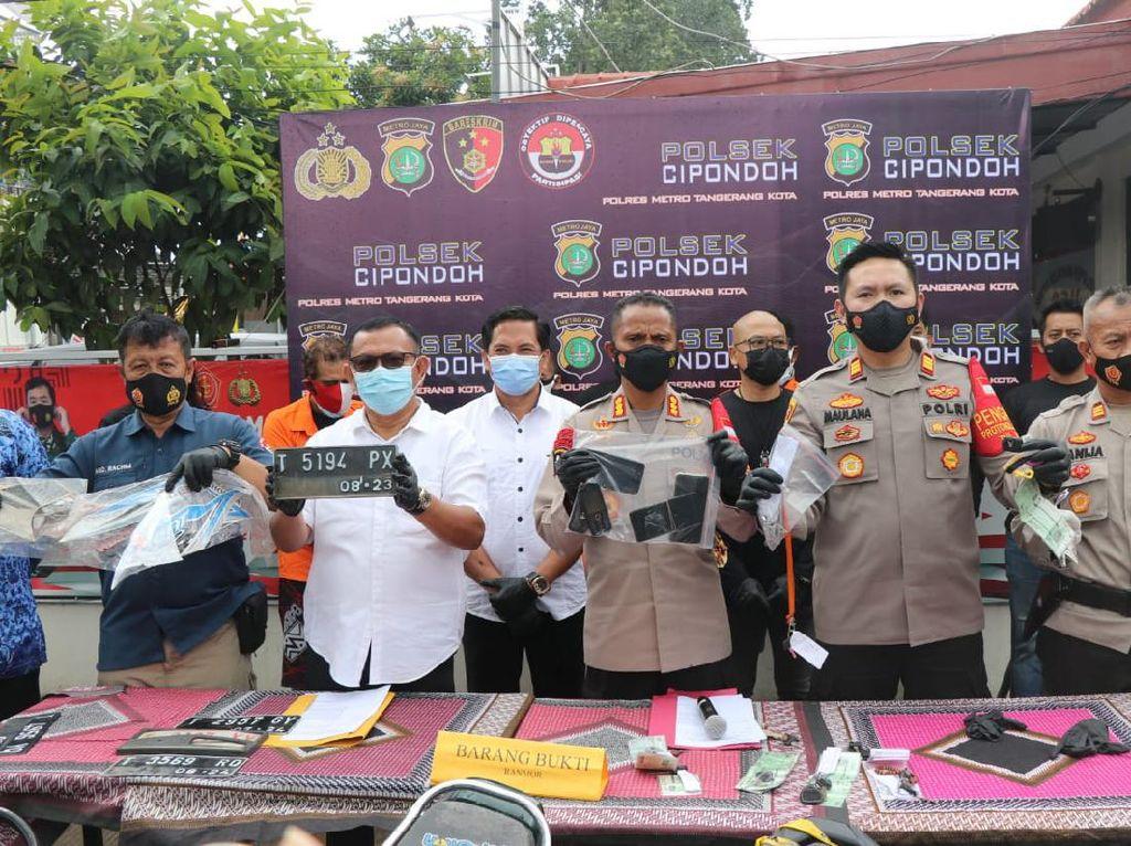 11 Motor Bodong Diamankan Polisi di Tol Tangerang, Hendak Dikirim ke Sumsel