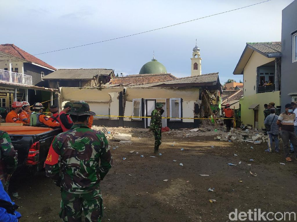 Ponpes yang Ambruk di Cianjur hingga Sejumlah Santri Luka Belum Ajukan Izin KBM