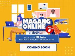 Siap-Siap! Ikut Magang Online detikcom Bakal Dikasih Insentif Rp 10 Juta