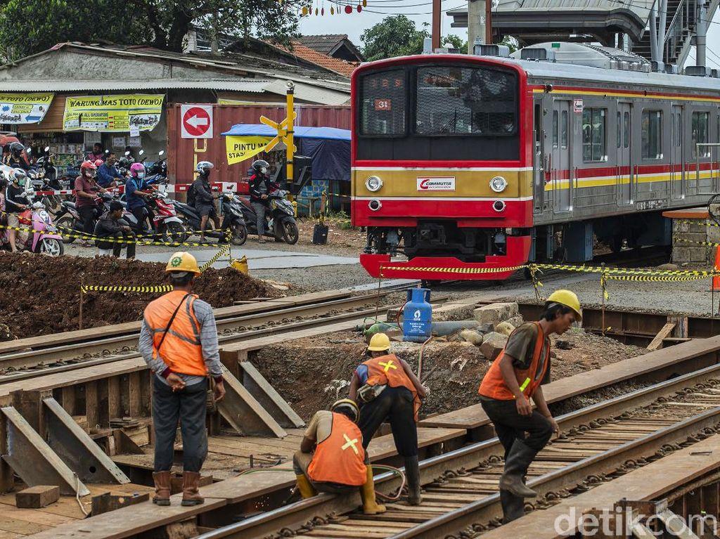 Melihat Progres Terkini Proyek Underpass Stasiun Cibitung