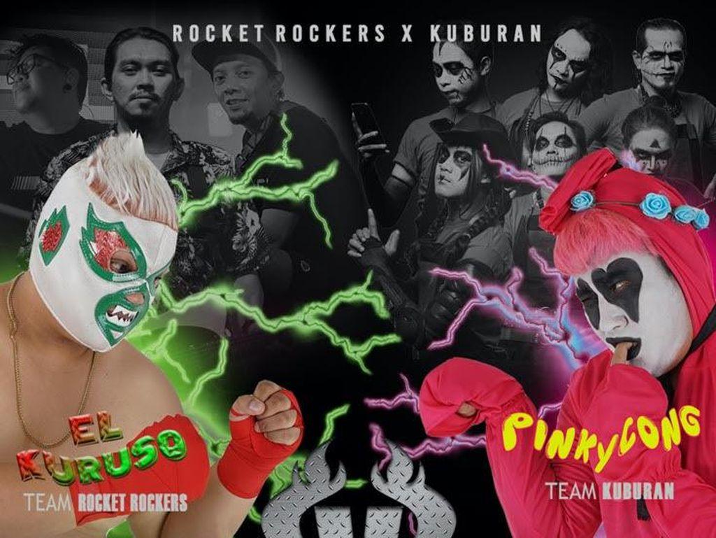Rocket Rockers Kolaborasi Spontan bareng Kuburan di KRNY