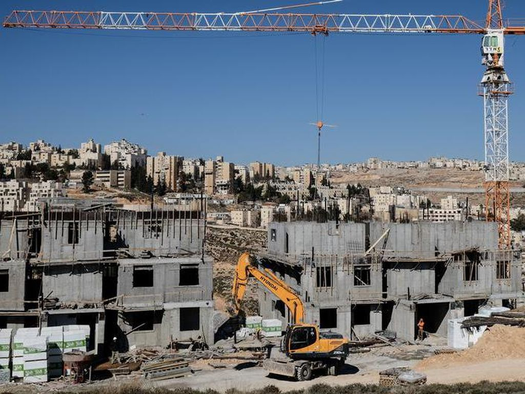 Israel Akan Bangun 2.500 Rumah Pemukim Yahudi di Tepi Barat-Yerusalem